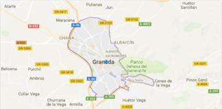 Mappe della città di Granada