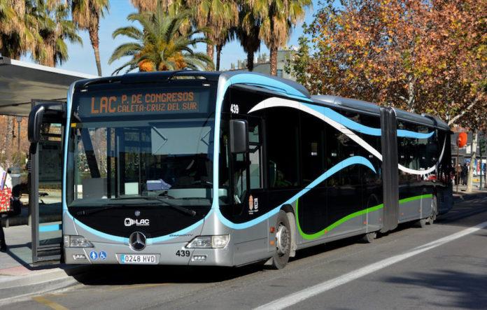 Autobus urbani di Granada