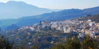Lanjaron città termale in provincia di Granada