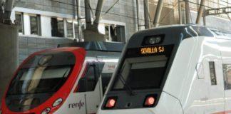 Stazione dei treni a Granada