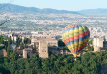 Volo in mongolfiera a Granada