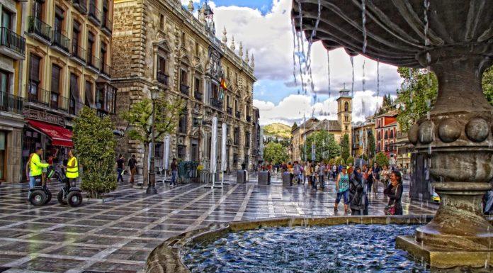 Plaza Nueva a Granada